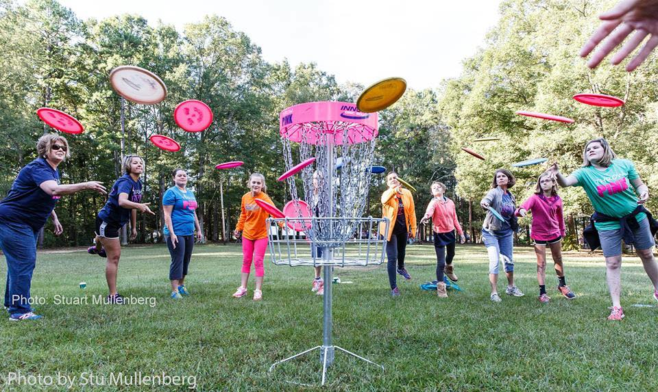 Ring of Fire disc golf game