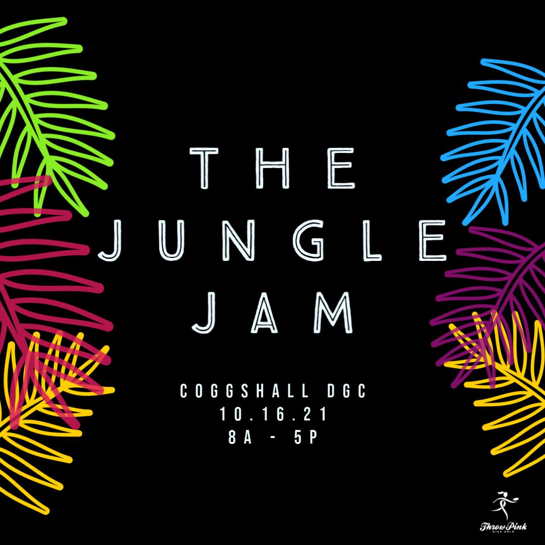 jungle jam disc golf tournament at fitchburg, MA