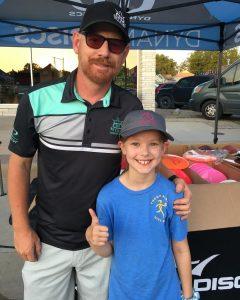 Eric McCabe with Hayden W.